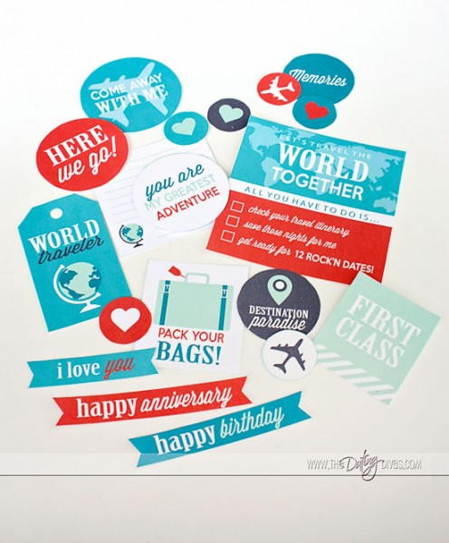 Passport to Love- Free Printables