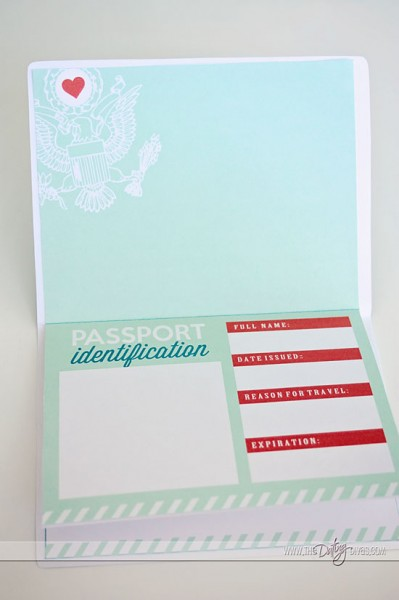 Passport to Love- such a cute romantic gift idea