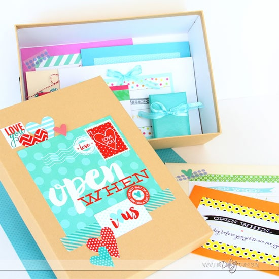 Perfect Open When Letters Keepsake Box