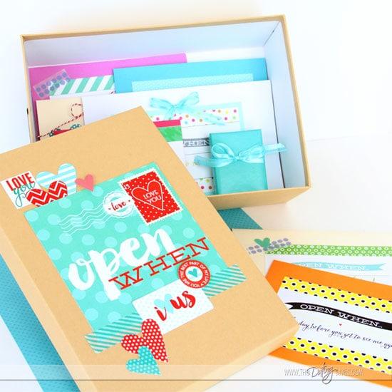 Perfect Open When Letters Keepsake Box