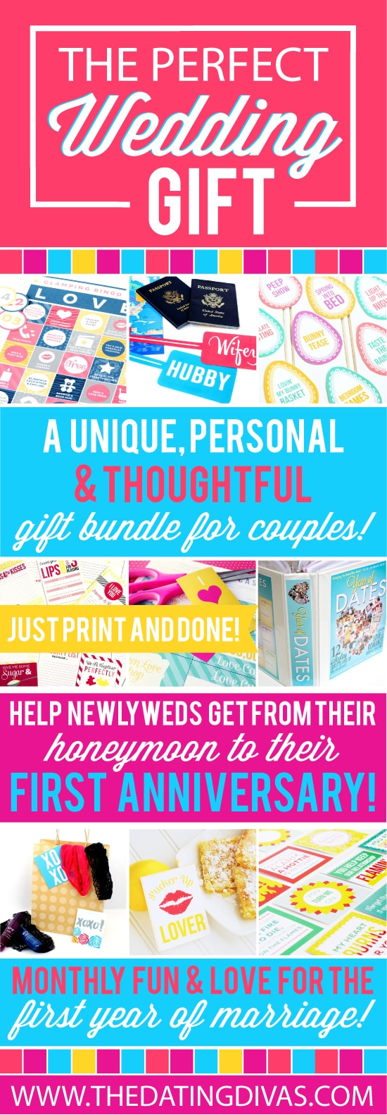 Best Wedding Gift List 2015 : The Perfect 2015 Wedding Gift PushUP24