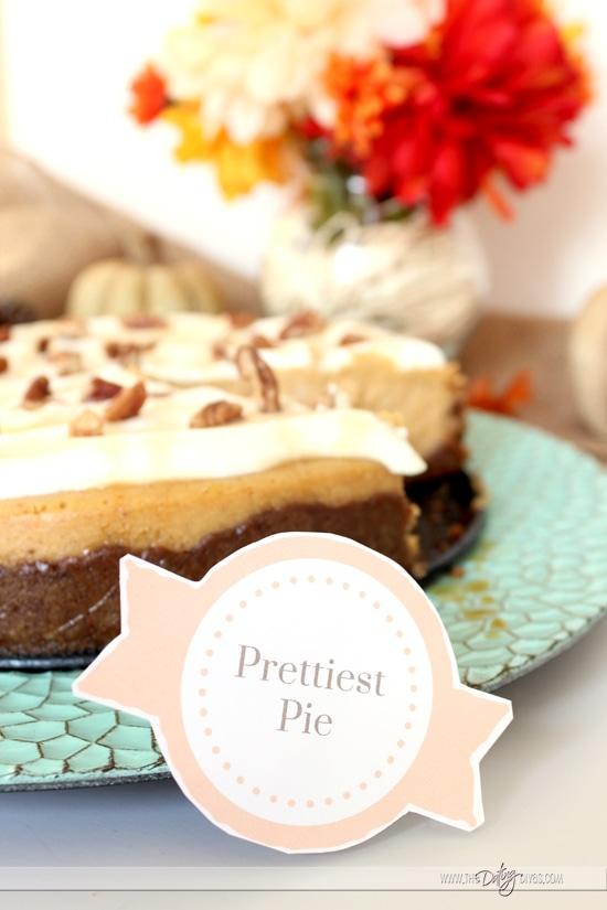 Prettiest Pie Night Award