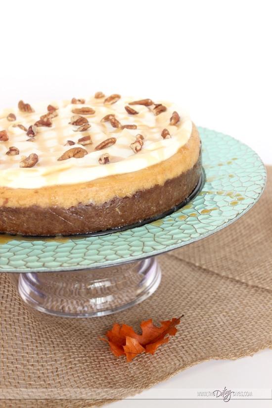 Pie Night Pumpkin Cheesecake
