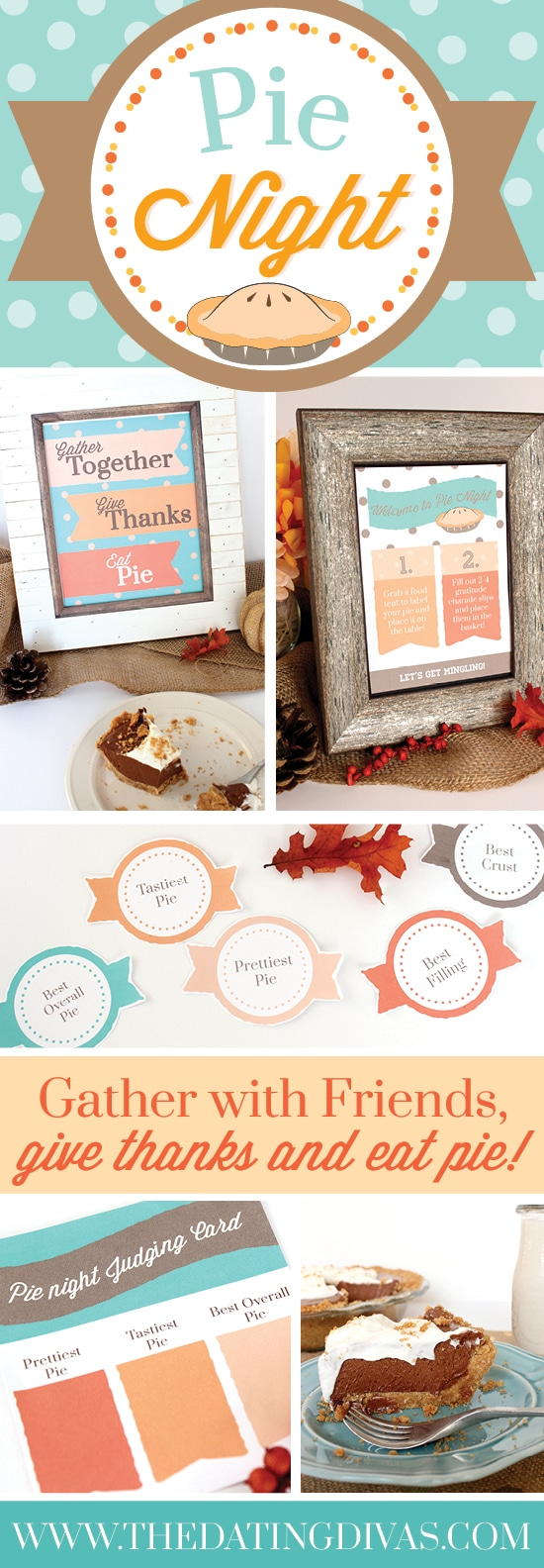 Pie Night Thanksgiving Tradition