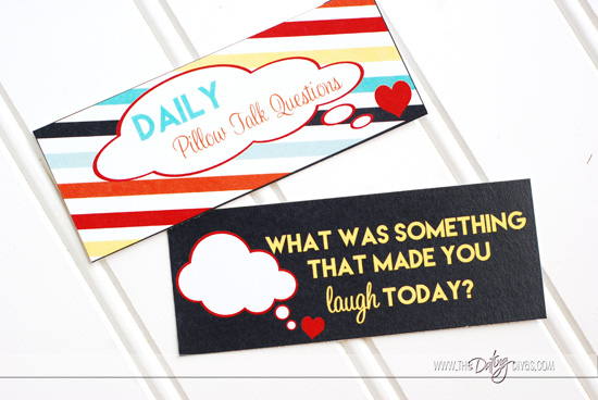 Pillow Talk Daily Question Card