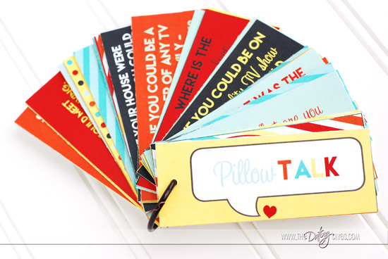 Pillow Talk Printable Question Cards