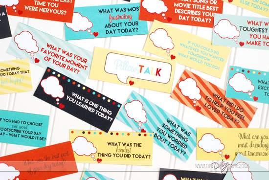 Pillow Talk Free Printables