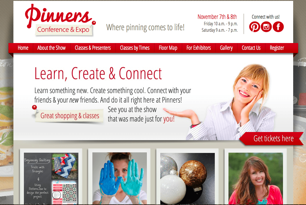 Pinner's Conference Home Page