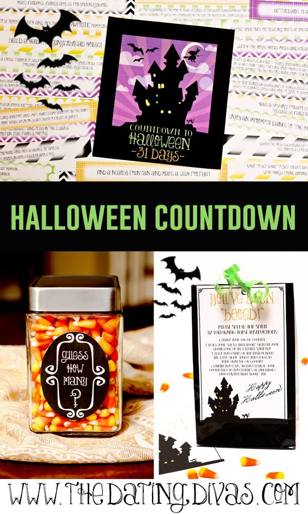 Halloween Countdown Printables