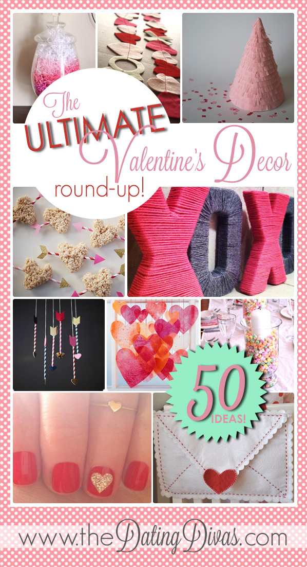 Chrissy - Valentine's Decor Round-Up - Pinterest Pic