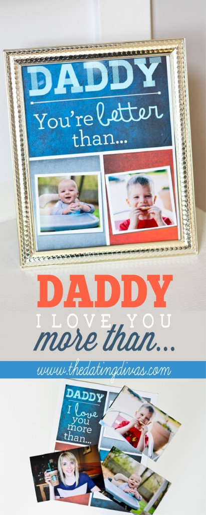 DIY Father's Day Gift from the Kids www.thedatingdivas.com