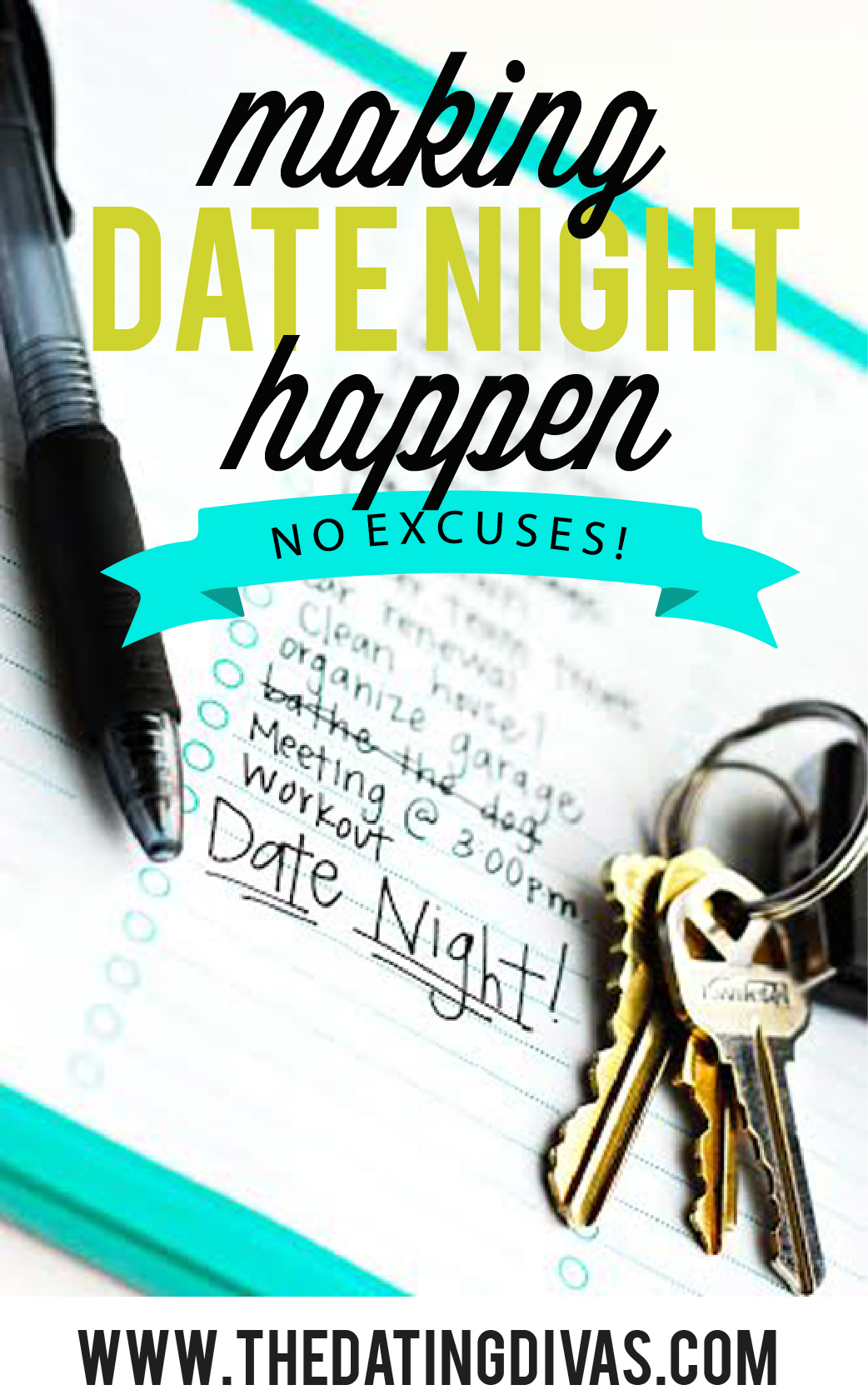 Great Ideas for Making Date Night Happen Pinterest Picture