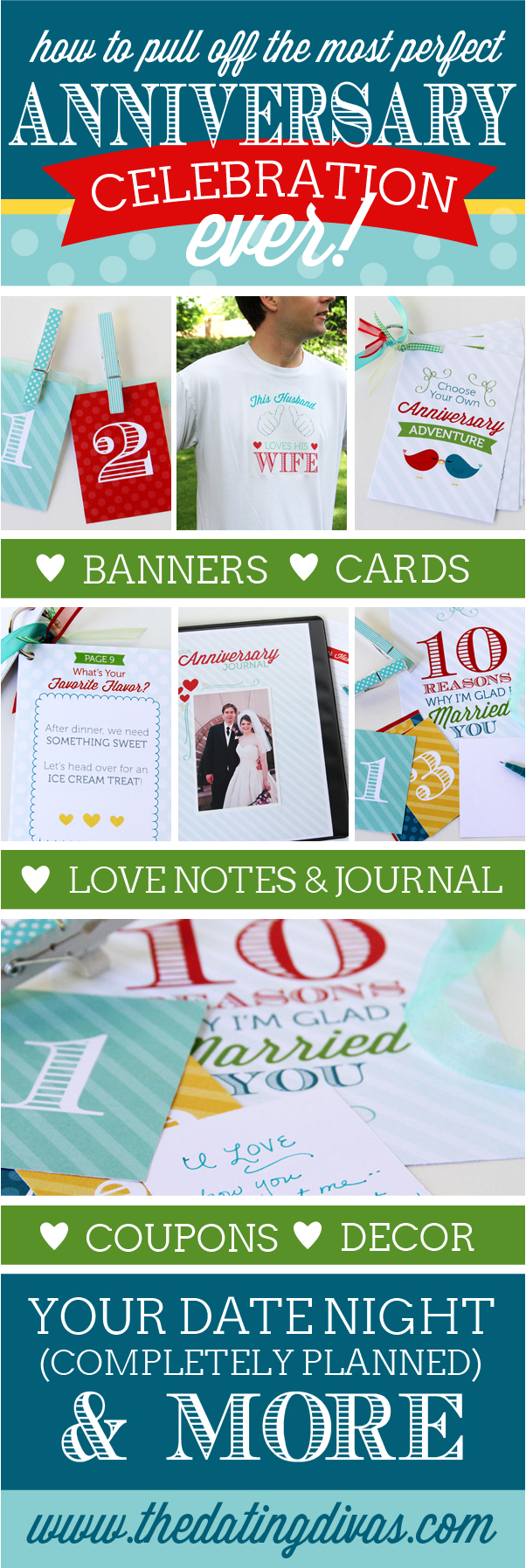 Anniversary Printables Pack Pinterest Picture