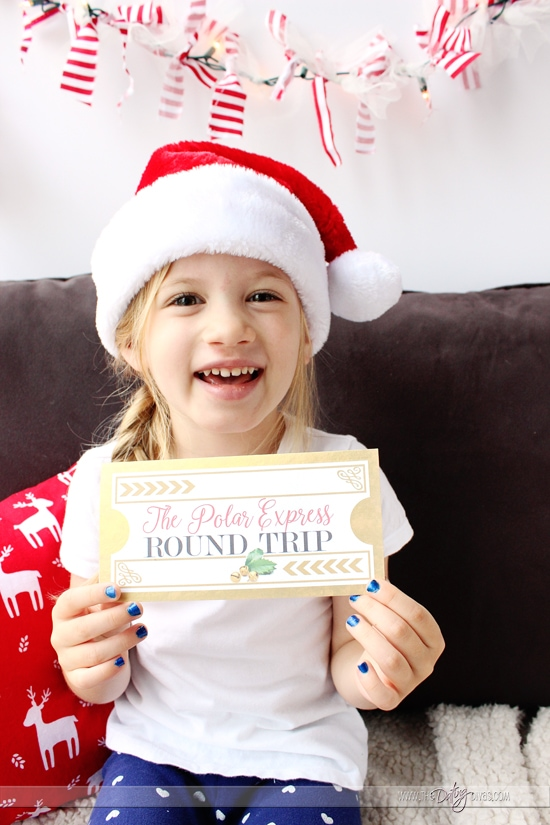 Polar Express Night Printable Ticket