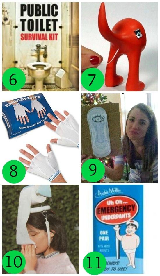 Gag Gift Ideas for Potty Humor