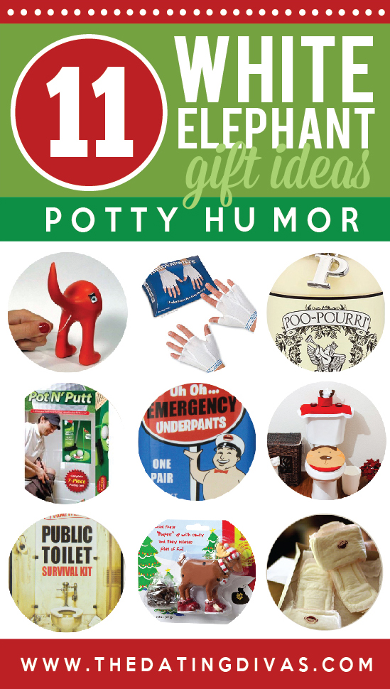White Elephant Gift Ideas Potty Humor