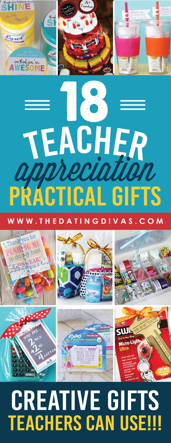 Practical Teacher Appreciation Ideas