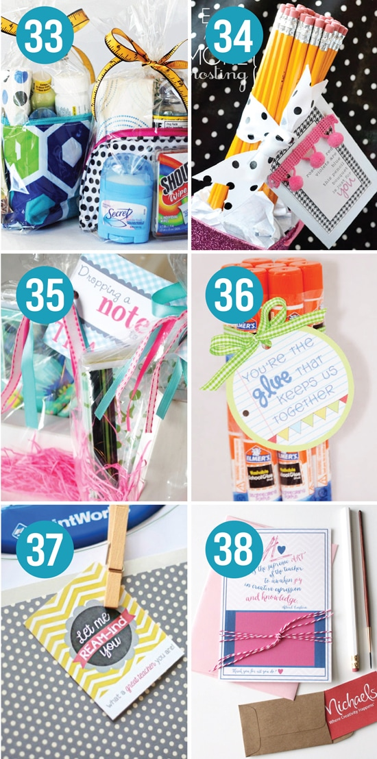 Quick and Easy Teacher Appreciation Gifts And Ideas - The ...