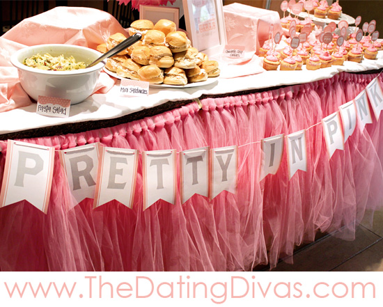 Pretty In Pink Baby Shower Banner