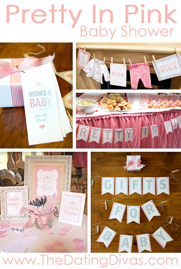 Pretty In Pink Baby Shower - Everything You Would Possibly Need