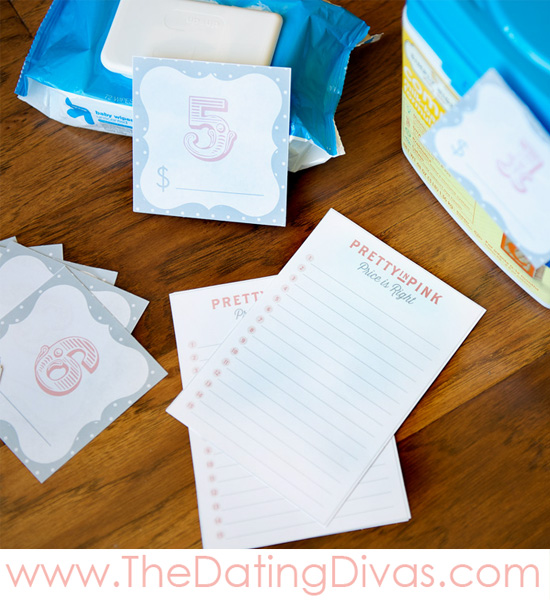 Pretty In Pink Baby Shower Games - PRINTABLES
