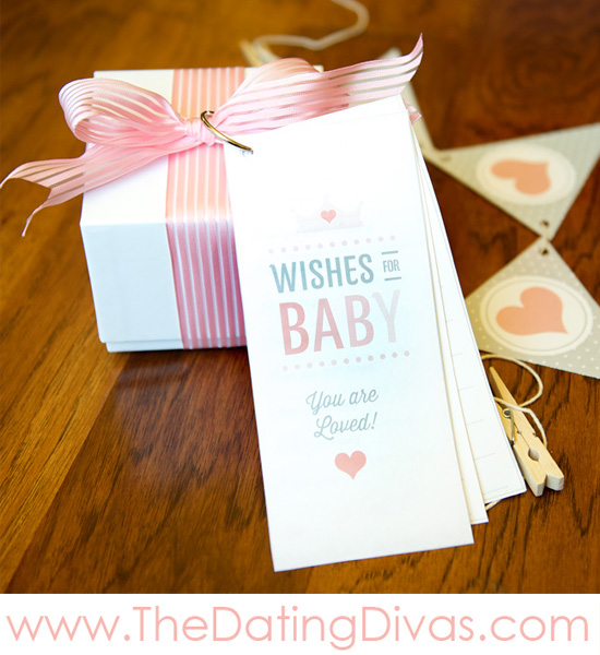 Pretty In Pink Baby Shower Theme - Wishes For Baby Printables