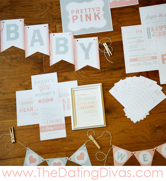 Pretty In Pink Themed Baby Shower - Love It