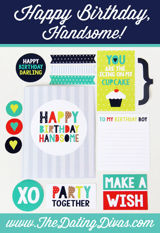 Printable DIY Birthday Card For Him