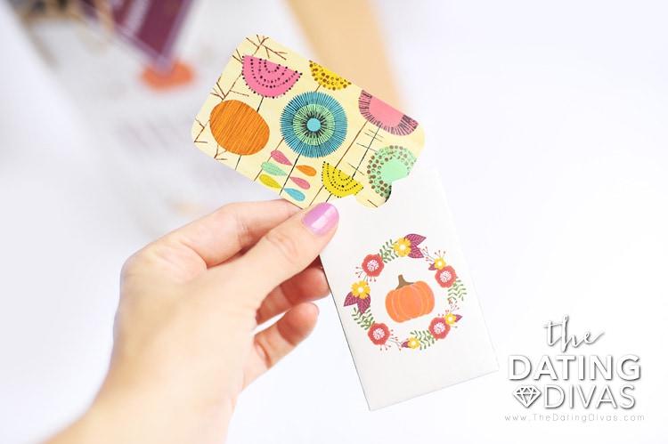 Printable Gift Card Holders for Blessing Bag