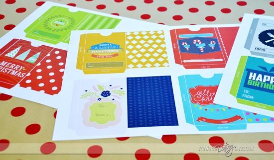 Free Gift Card Envelopes