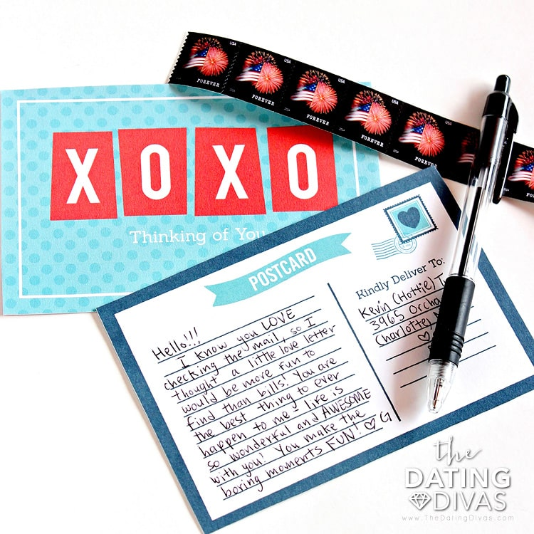 Printable Love Letters
