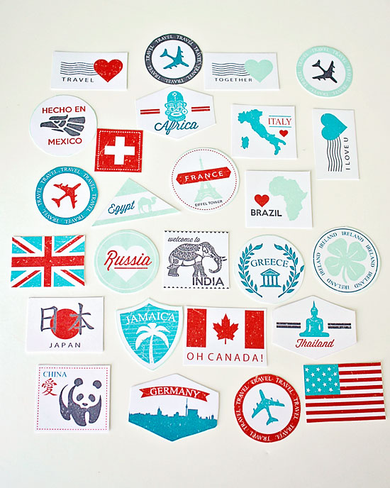 picture relating to Printable Passport Stamps for Kids titled Pport toward Appreciate! PushUP24