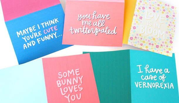 Spring Themed Love Cards