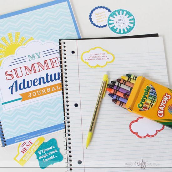 Printable Summer Journal for Kids