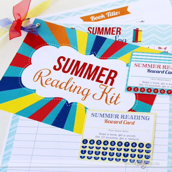 Printable Summer Reading Kit
