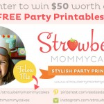 Strawberry Mommycakes' Shop Giveaway