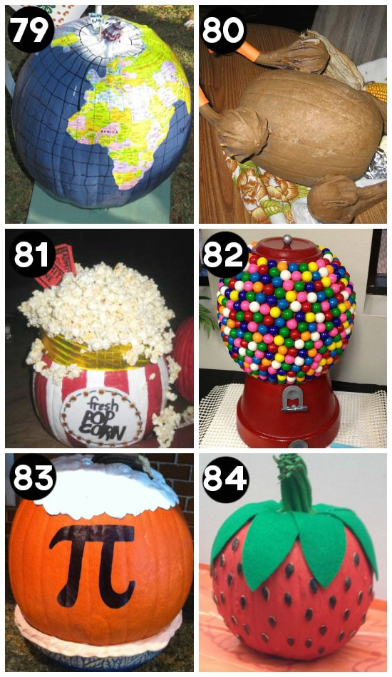 150 Pumpkin Decorating Ideas , Fun Pumpkin Designs for Halloween