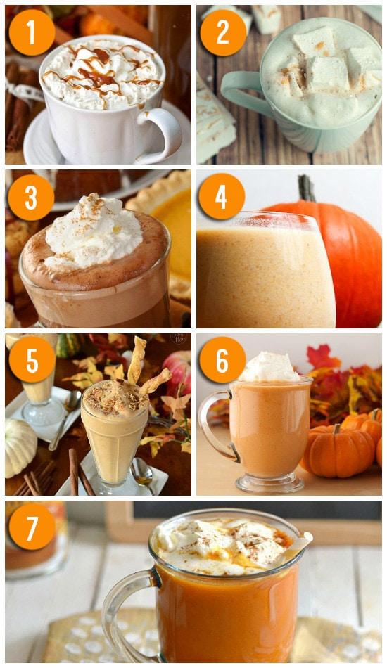 Fresh pumpkin recipes for drinks.   The Dating Divas