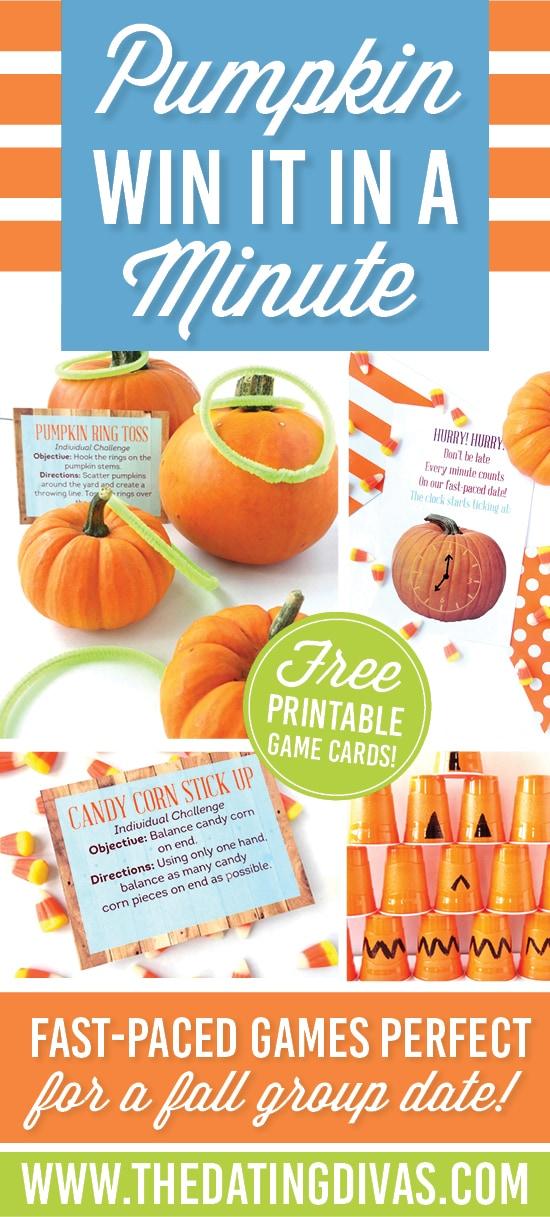 Pumpkin Minute Games