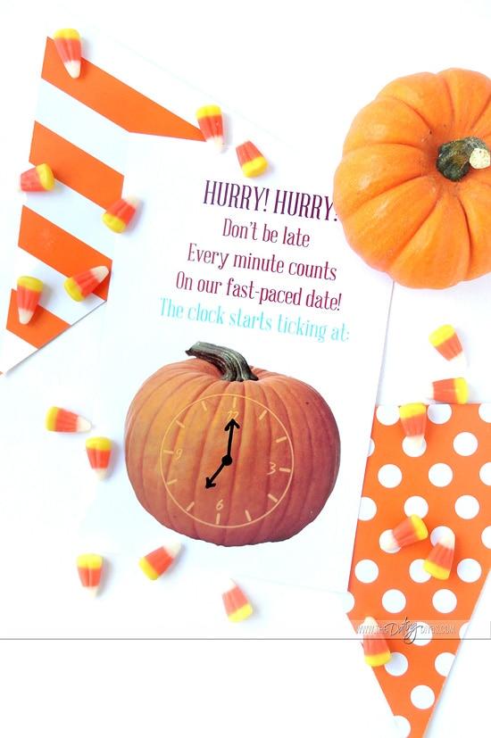 Pumpkin Games Invite