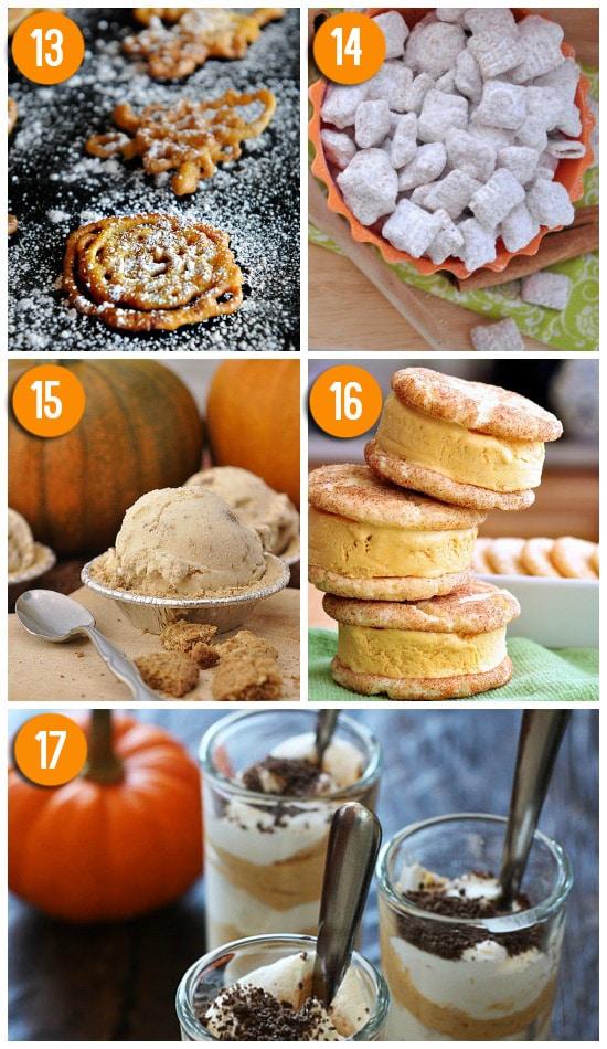 Pumpkin Treat Recipes