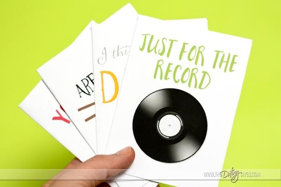 Four Printable Cards!