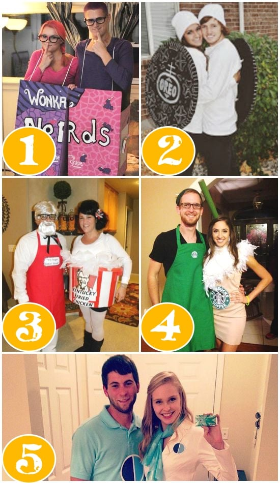 25 Quick Costume Ideas for Couples Round Two - Quick Halloween Ideas