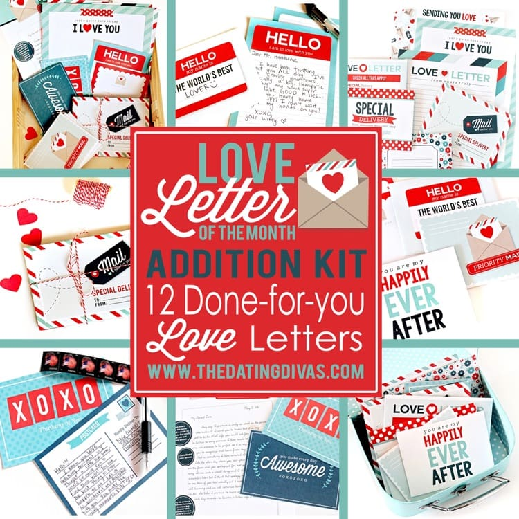 Quick Printable Love Notes and Letter