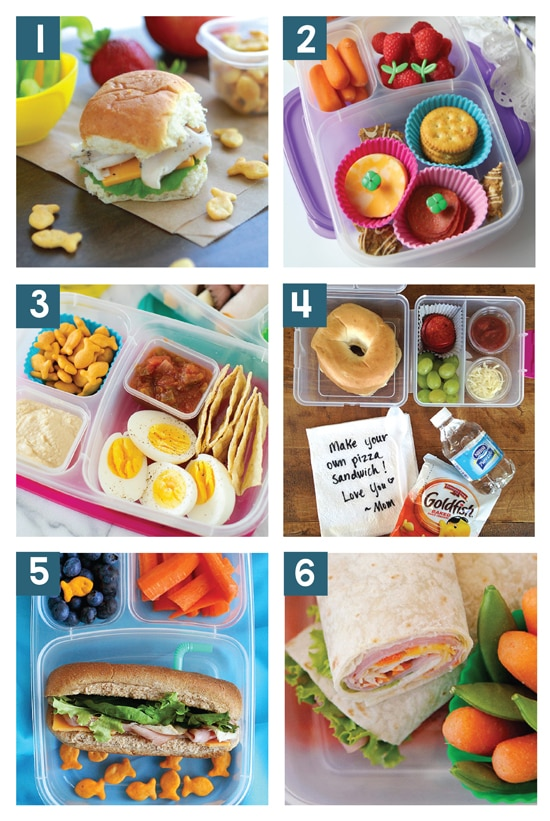 Easy School Lunch Ideas For Kids From The Dating Divas