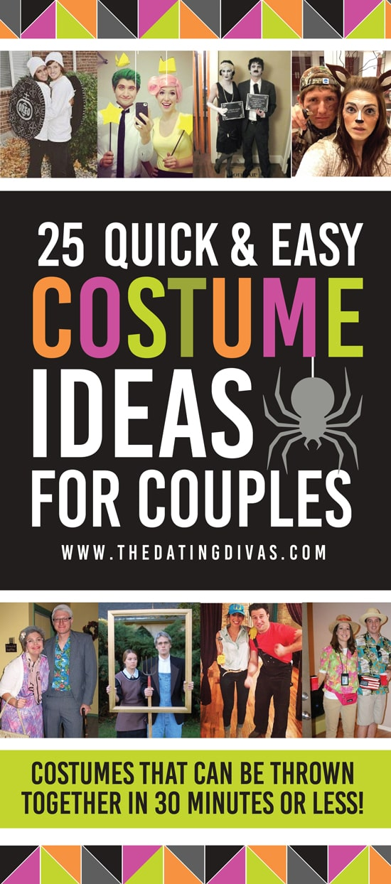 Quick And Easy Costume Ideas For Couples