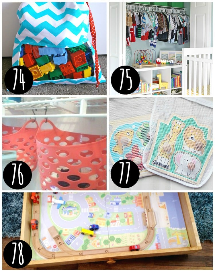 Top tips for organizing your kids toys.