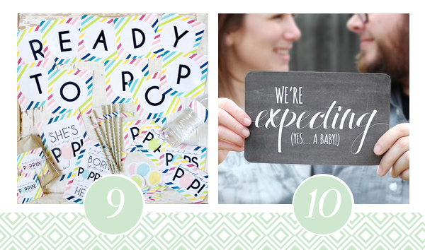 Ready to POP Baby Shower Printable Pack