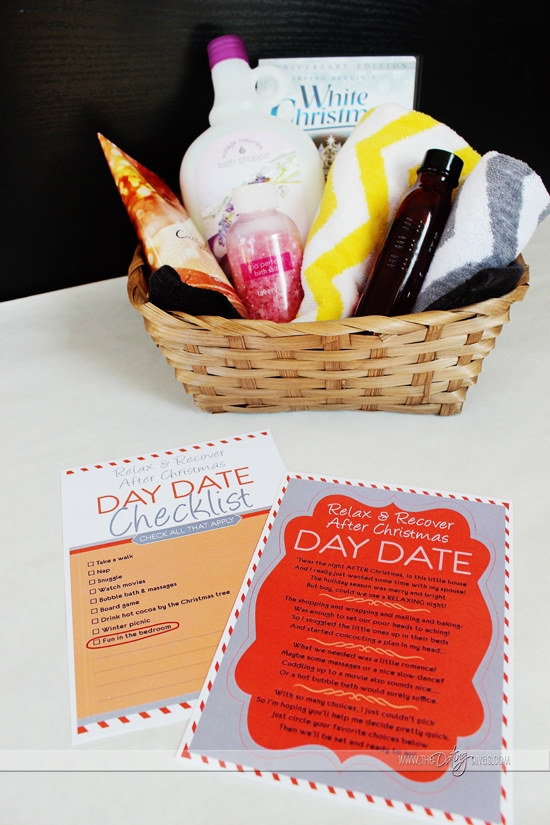 relax and recover date basket