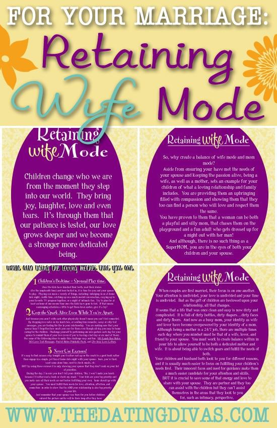 Retaining Wife Mode
